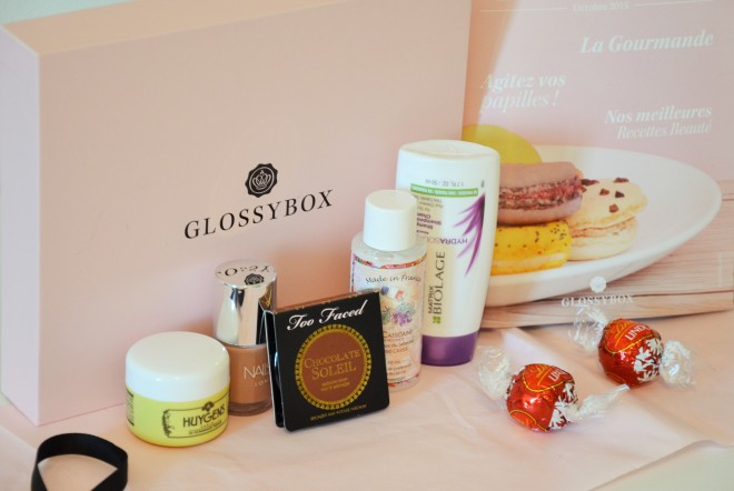 glossybox nailsinc huygens too faced cosmetics