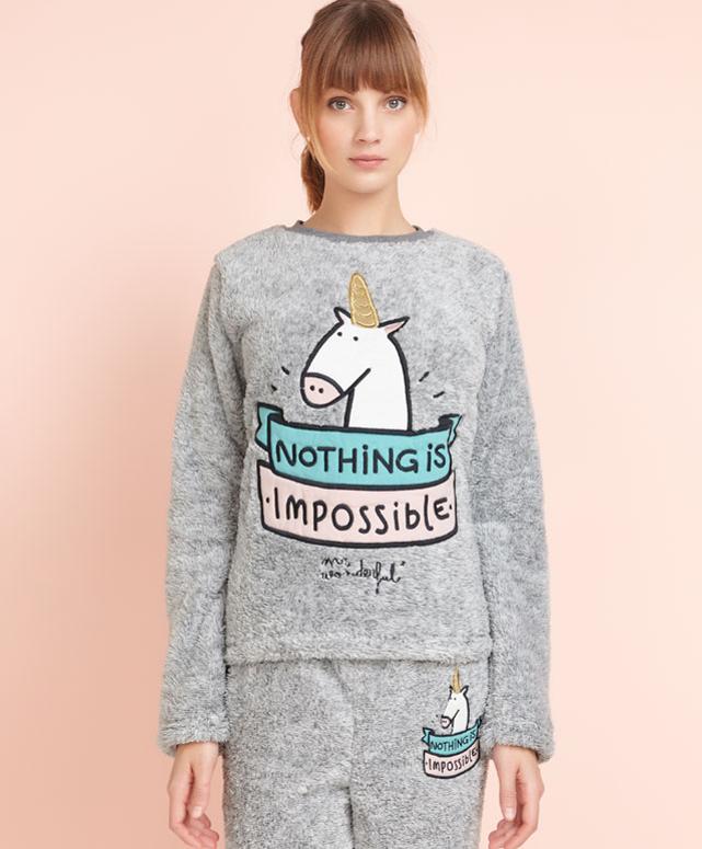 oysho pyjama polaire Mr impossible