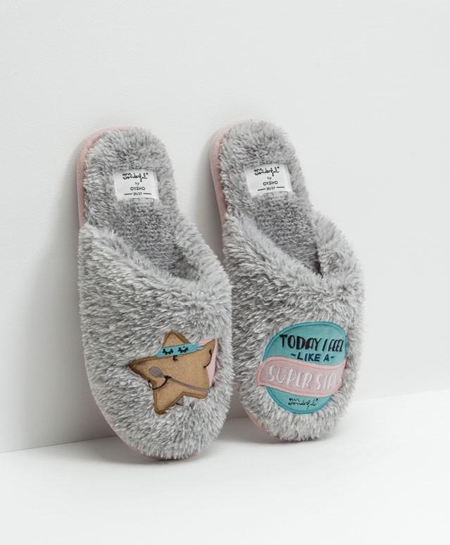 oysho slippers mr wonderful