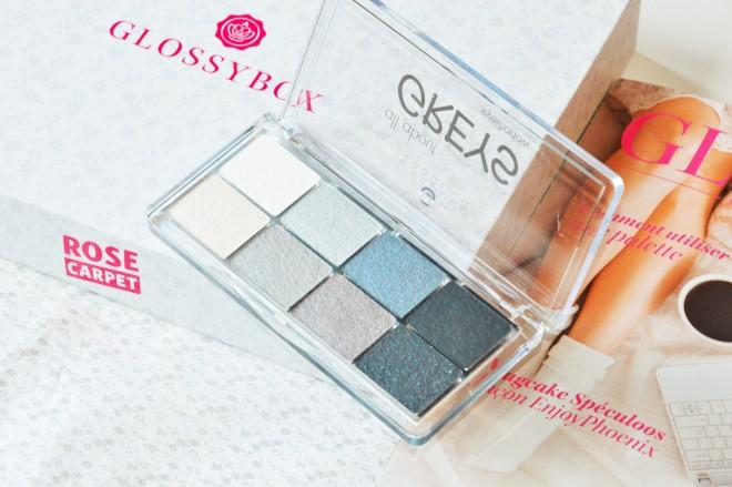 glossybox eyeshadows