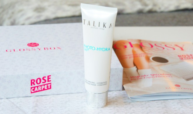 glossybox talika skin care