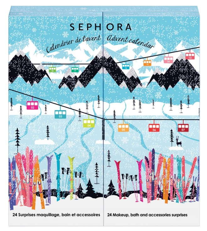 sephora beauty calendar noel